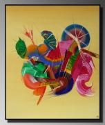 tableau abstrait tableaux abstraits tableaux sur mesure tableaux contemporai vente de tableaux : Musique