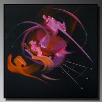 Peintur abstraite Songe d'une nuit