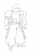 dessin personnages guerrier combattant personnage : Le hère