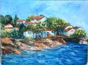 tableau marine var littoral mer villas : RIVAGE VAROIS