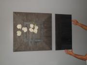 tableau fleurs design orchidee : orchidee