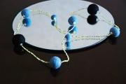 bijoux marine tendance mode ethnique bijoux : Sautoir Paloma