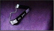 bijoux villes tendance mode unique : Bracelet message : Cap ou pas Cap