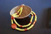 bijoux collier ethnique unique tendance : Double collier Spicy