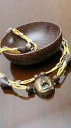 bijoux personnages tendance mode ethnique unique : Collier Fanny