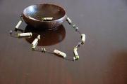 bijoux nature morte tendance mode unique ethnique : Collier Mya