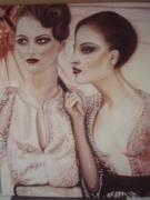 tableau personnages conversation femme : Aude & Aurélie