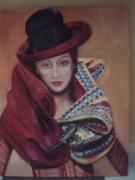 tableau personnages voyage femme : Adèle