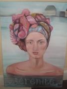 tableau personnages reve femme portrait charme : Aurore