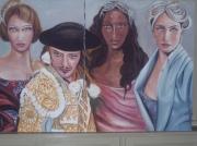 tableau personnages groupe mode : quartet