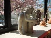sculpture personnages sensuel : couple