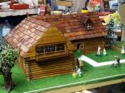 bois marqueterie architecture la de table cafe maison : maison habitee