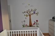 deco design autres arbre insecte animaux fleur : l'arbre magique