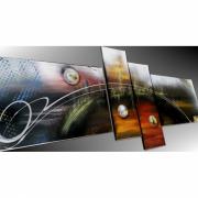 tableau abstrait tableau moderne peinture sur toile art abstrait tableau abstrait : Tableau abstrait pièce unique, peinture sur toile