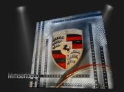 deco design sport tableau porsche logo porsche carrera 4 tableau peinture por : LOGO PORSCHE