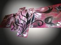 Tableau abstrait moderne Floralys