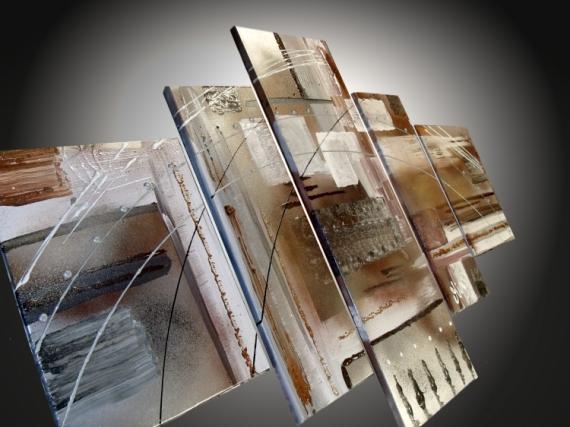 TABLEAU PEINTURE tableau abstrait tableau design tableau moderne decoration murale Abstrait Acrylique  - tableaux Peinture Abstraite