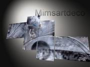 artisanat dart abstrait tableaux abstraits tableaux moderne tableau contemporain tableau design : Tableau abstrait moderne
