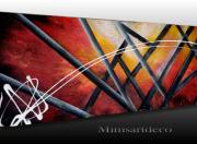 tableau abstrait tableau abstrait peinture moderne tableau contemporain artiste peintre : Tableau abstrait unique, création originale peinte à la bombe aé