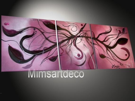 ARTISANAT D'ART tableaux abstraits tableaux moderne tableau contemporain tableau design Abstrait  - Tentaculaire