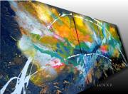 tableau abstrait tableau abstrait tableau moderne tableau contemporain tableau peint bombe : TABLEAU ABSTRAIT MODERNE CONTEMPORAIN-BOMBE DE PEINTURE