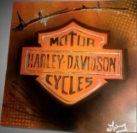 Tableau logo Harley Davidson