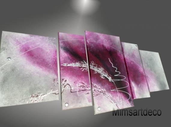 TABLEAU PEINTURE tableaux abstraits tableaux design tableau contemporain deco moderne Abstrait  - Tableau moderne  grand format