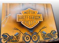 TABLEAU HARLEY DAVIDSON MOTOR CYCLES