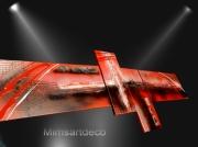 tableau abstrait tableau moderne art abstrait peinture contemporai tableau vente : Tableaux abstrait rouge