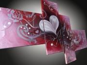 tableau abstrait tableaux abstraits tableaux moderne art contemporain tableau design : tableaux abstrait Coeur