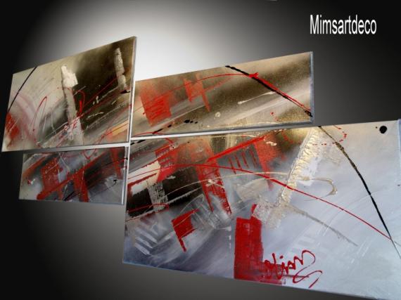 TABLEAU PEINTURE tableaux abstraits tableaux moderne tableau contemporain tableau design Abstrait  - Tableau design moderne