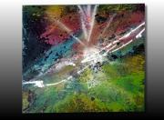 tableau abstrait tableau abstrait tableau moderne art abstrait art moderne : TABLEAU ABSTRAIT PEINT A LA BOMBE-TECHNIQUE ORIGINALE
