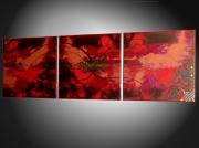 tableau abstrait tableau abstrait oeuvre unique art moderne decoration murale : tableau moderne