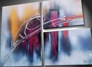 tableau abstrait toile moderne decoration de maison oeuvre unique tableaux abstrait : Toile moderne Disfraction