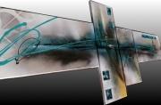 tableau abstrait tableau bleu toile abstraite bleu peinture sur toile b tableau abstrait ble : tableau abstrait bleu
