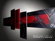tableau abstrait tableau abstrait tableaux moderne art contemporain tableau design : Tableau abstrait Etna