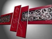 tableau abstrait art deco home deco tableau contemporain : Mody Pearl