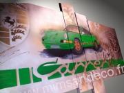 tableau autres tableau porsche tableau design carre tableau moderne decoration murale : Tableau  Porsche carrera 2.7 l  rs