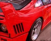 dessin autres autos : F40 ZOOM