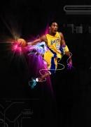 art numerique sport basket : K BRYANT