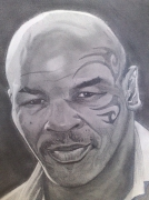 dessin personnages personnalites : MIKE TYSON