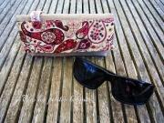 art textile mode fleurs etui ,a lunettes lin liberty accessoire : Etui à lunettes lin et liberty 18