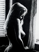 dessin nus : reverie