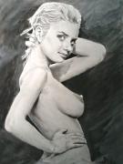 dessin nus : pin up