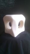 sculpture abstrait troue pierre calcaire abtrait : pèrsé