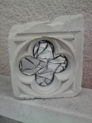 artisanat dart autres quadrilobe sculpture savoniere miroire : quadrilobe