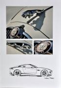 mixte sport jaguar photo voiture gris : Carte Jaguar