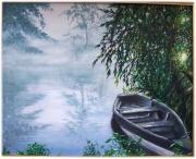 tableau : La barque