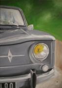 tableau architecture auto voiture automobile : renault 8