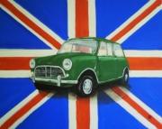 tableau architecture auto voiture automobile : austin mini
